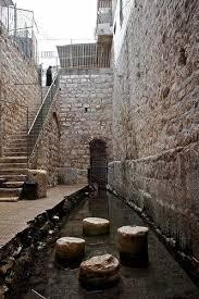 Resultado de imagem para piscina de siloé jerusalem