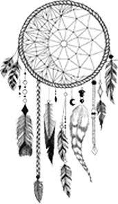 Amazon Com Pretty Hand Sketch Feather Dream Catcher Cartoon 2 Vinyl Decal Sticker 4 Tall Arts Crafts Sewing
