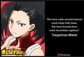 kata kata bijak anime boku no hero academia mogimogy