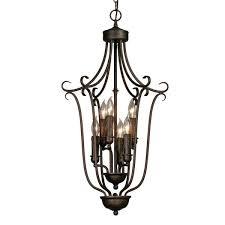 light bronze 3 tier chandelier