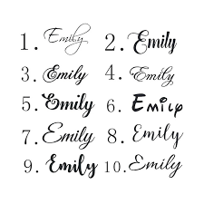 Name Decal Sticker For Kids Rooms Custom Personalized Baby Nursery Names Wall Decals Princess Room Home Decoration Stickers G01 Wall Stickers Aliexpress