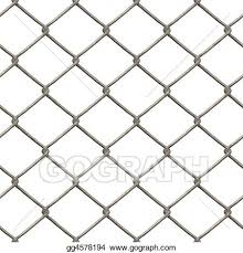 Drawing Chain Link Fence Clipart Drawing Gg4578194 Gograph