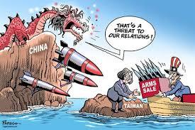 Ahay.vn - Bầu cử ở Đài Loan qua tranh hí họa