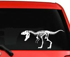 Dinosaurs Skeleton Trex Car Truck Laptop Macbook Window Decal Sticker 8 Ebay