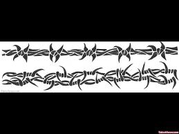 Grey Ink Barbed Wire Armband Tattoo Design Tattoo Viewer Com