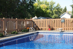 6 X 6 Composite Shadow Box Fence Panel Material List At Menards