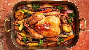 Roast Chicken with Vegetables and Potatoes | Martha Stewart