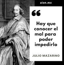 Aion Mx - ¿Qué opinas de esta frase de Julio Mazarino? ✍️... | Facebook