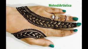 mehandi design bel wale
