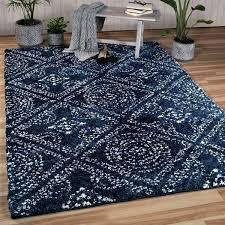 navy area rug vidhi co