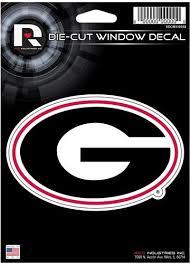 Georgia Bulldogs Die Cut Vinyl Decal The Stick R Bomb Shack