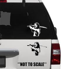 For Michonne Sticker Vinyl Decal Walking Dead Zombie Apocalypse Living Dead Various Sizes Aliexpress