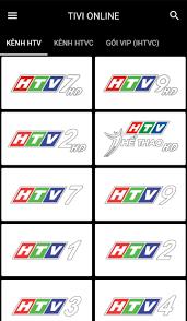 HTVOnline cho Android - Tải về APK