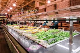 healthy meal guide at the whole foods