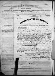 Charles Wesley Harrison › Declaration of Intention (1918) - Fold3.com