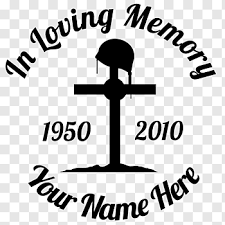 In Loving Memory Cutout Png Clipart Images Pngfuel