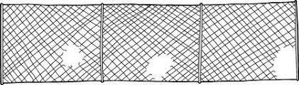 Broken Fence Stock Illustrations Cliparts And Royalty Free Broken Fence Vectors