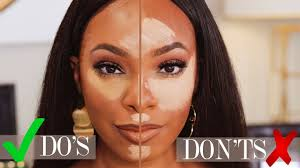 highlight contour do s and don ts