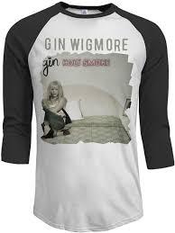 Adam L] Gin Wigmore Holy Smoke Men's 3/4 Sleeve Raglan Baseball T-Shirt  Black: Amazon.es: Ropa y accesorios