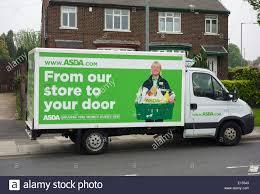 Asda Delivery Van Stock Photos & Asda ...