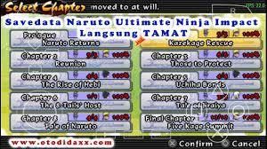 Download Savedata Naruto Ninja Impact Ppsspp Tamat - multifilesmetrix