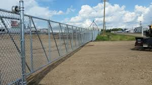 Phoenix Fence Chainlink Commercial Industrial Galvanized Fence