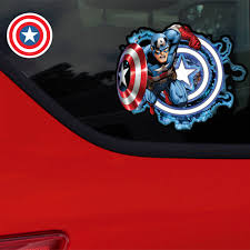 Marvel Captain America Decal Car Window Decal Sticker