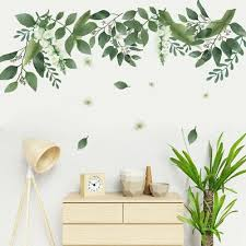 Nature Grass Wall Decal Stickers Art Decor Green Plant Leaves Home Mural Diy Decals Stickers Vinyl Art Ebay L In 2020 Sticker Wall Art Sticker Decor Diy Mural Art