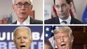 Trump vs Biden has echoes of Scott Walker vs. Tony Evers in 2018