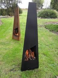 steel metal chiminea chimenea