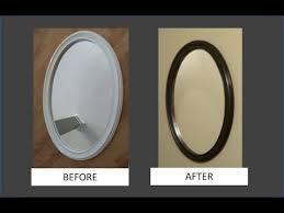 spray paint a mirror frame you
