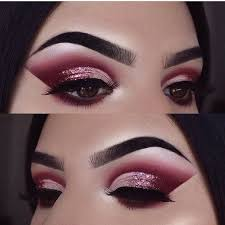 pink glitter eye makeup looks saubhaya makeup