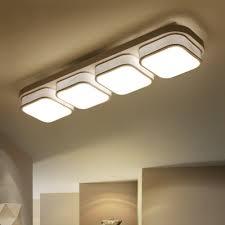 acrylic led square flush mount lighting