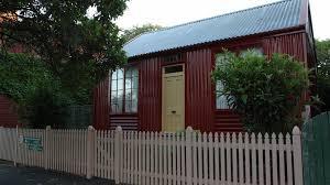Portable Iron Houses Attraction Melbourne Victoria Australia