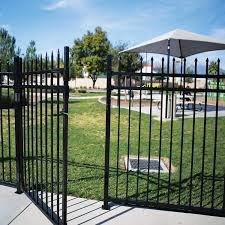 Amazon Com Max 250 Characters Xcel Black Steel Anti Rust Fence Gate Sharp End Pickets 4ft W X 5ft H Easy Installation Kit For Residential Outdoor Yard Patio Entry
