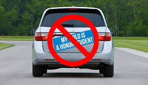 Mothers Everywhere To Remove My Child Is An Honor Student Bumper Sticker After Release Of Final Grades