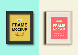 photo frames psd mockups graphicsfuel