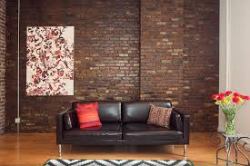 exposed brick walls how to hang a