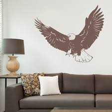 Eagle Wall Decal Eagle Vinyl Wall Sticker Wallums