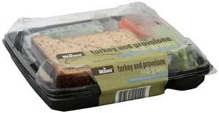 provolone on 8 grain bread sandwich