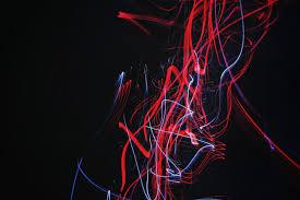 خطوط خلفية والمشارب والأحمر والضوء خلفية مظلمة Hd عريضة