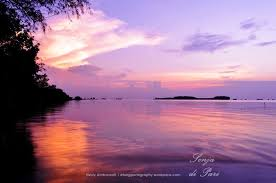 foto pilihan mingguan sepotong senja di pulau pari toekangpoto