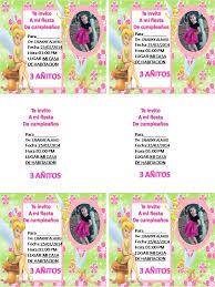 Decoracion Y Bebes Tarjetas De Invitacion De Tinkerbell