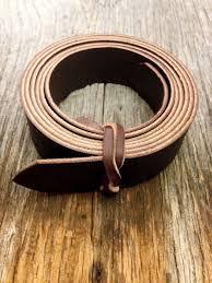 craig bridle leather belt strap blank