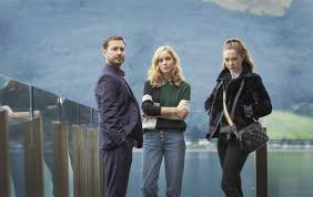 Martin Compston and Sophie Rundle on their new thriller, The Nest