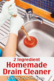 easy homemade drain cleaner and drain