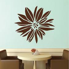 Exotic Flower Wall Decal Floral Wall Art From Trendy Wall Designs