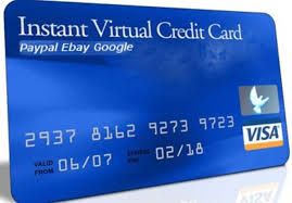 virtual credit card for paypal