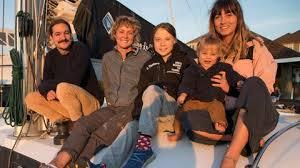 Greta Thunberg seglar till Madrid med australiska youtubare - DN.SE