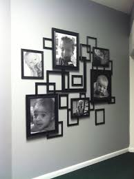 3d Photo Collage Made From Frames From Walmart Frame Wall Decor Frames On Wall Decor